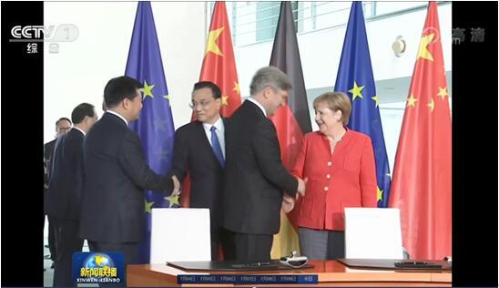 中德总理见证,牵手SAP:张近东带领苏宁走向