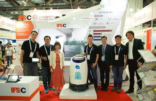 高仙商用清洁机器人新品在新加坡重磅发布